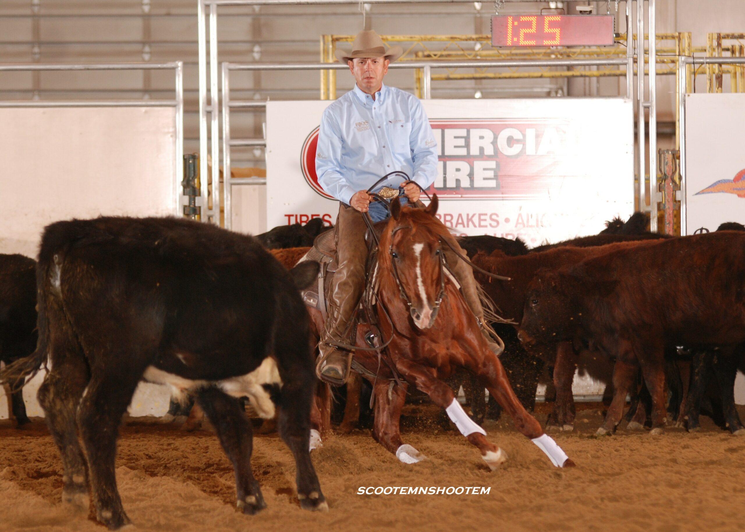 Smart Lookin Cat & Jon Roeser Win Idaho Reined Cow Horse Futurity Open