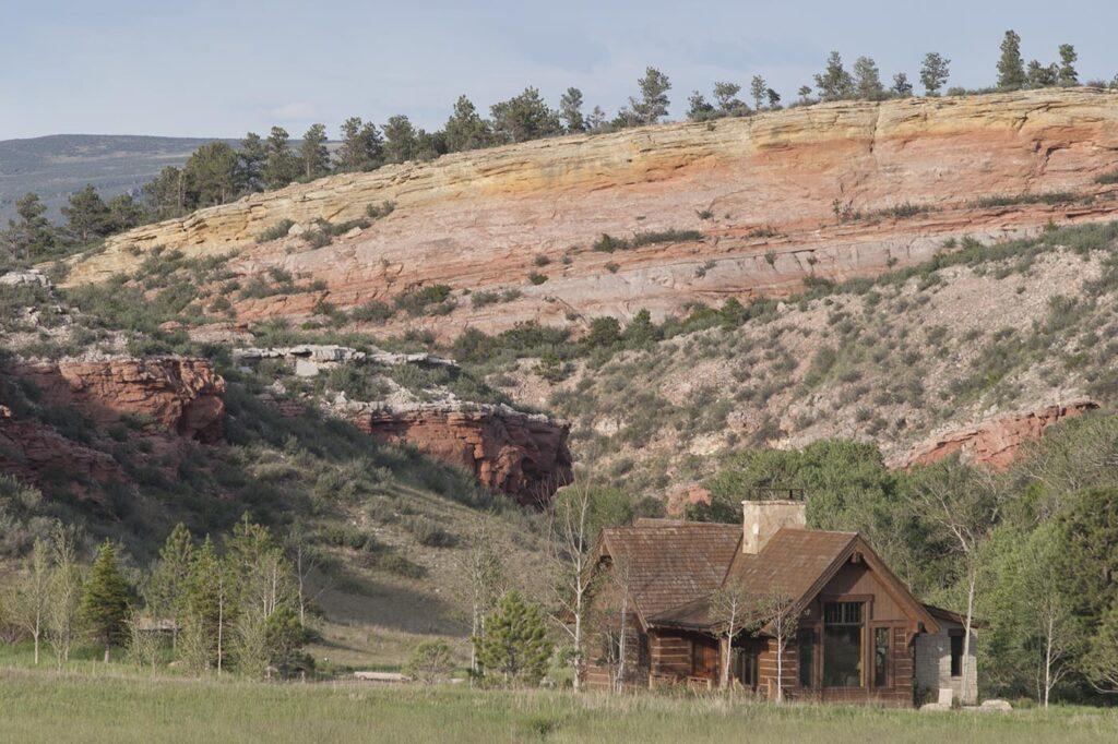 Cabin Landscape Wagonhound