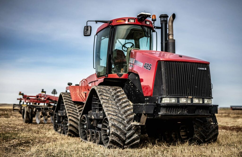 Case IH Tractor Wyoming