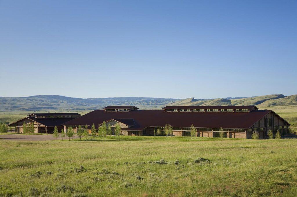 Horse Arena in Douglas, Wyoming