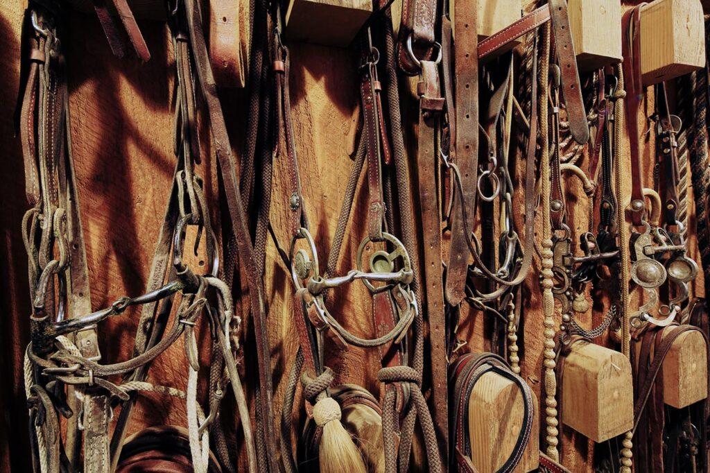 Horse Tack Ranch Brand