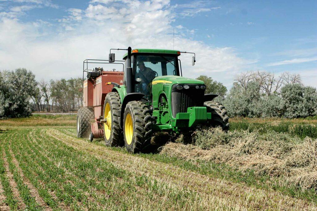 Harvesting Farm, WY