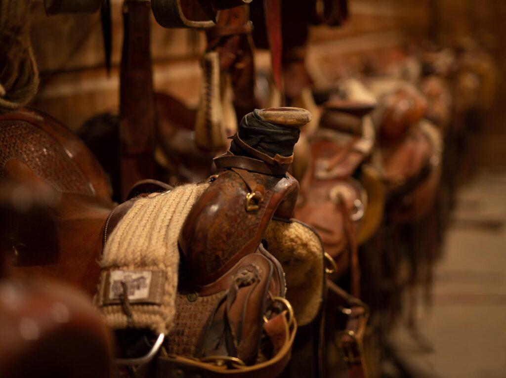 Ranch Saddle Wagonhound Brand