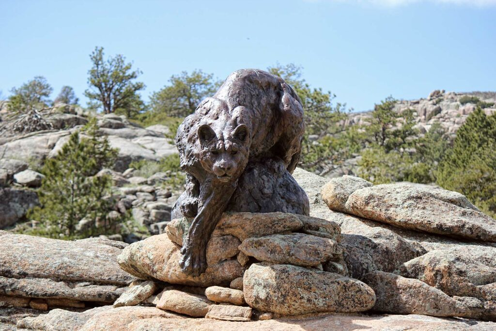 Wagonhound Bronze Sculpture