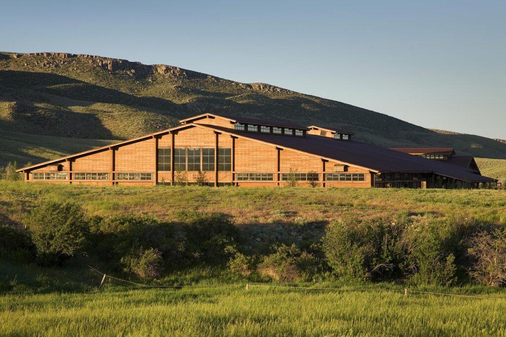 Wagonhound Ranch Arena in Douglas
